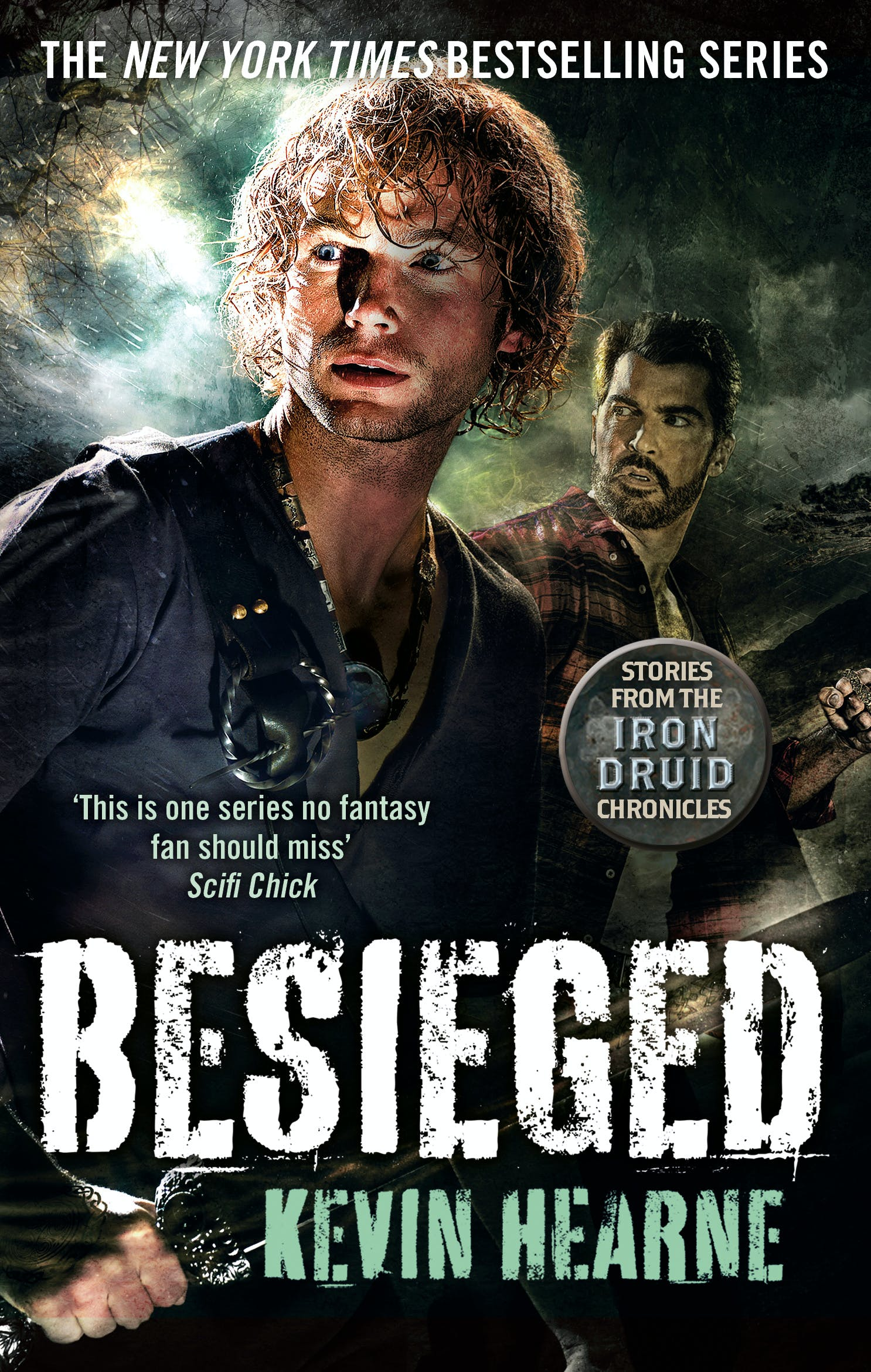 Besieged Stories From The Iron Druid Chronicles By Kevin Hearne Books Hachette Australia