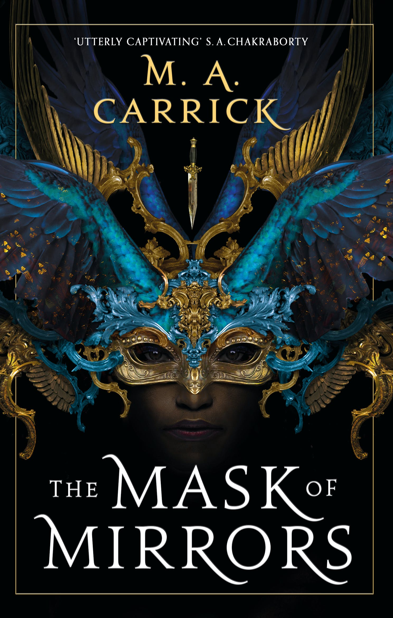 The Mask of Mirrors by M. A. Carrick - Books - Hachette Australia