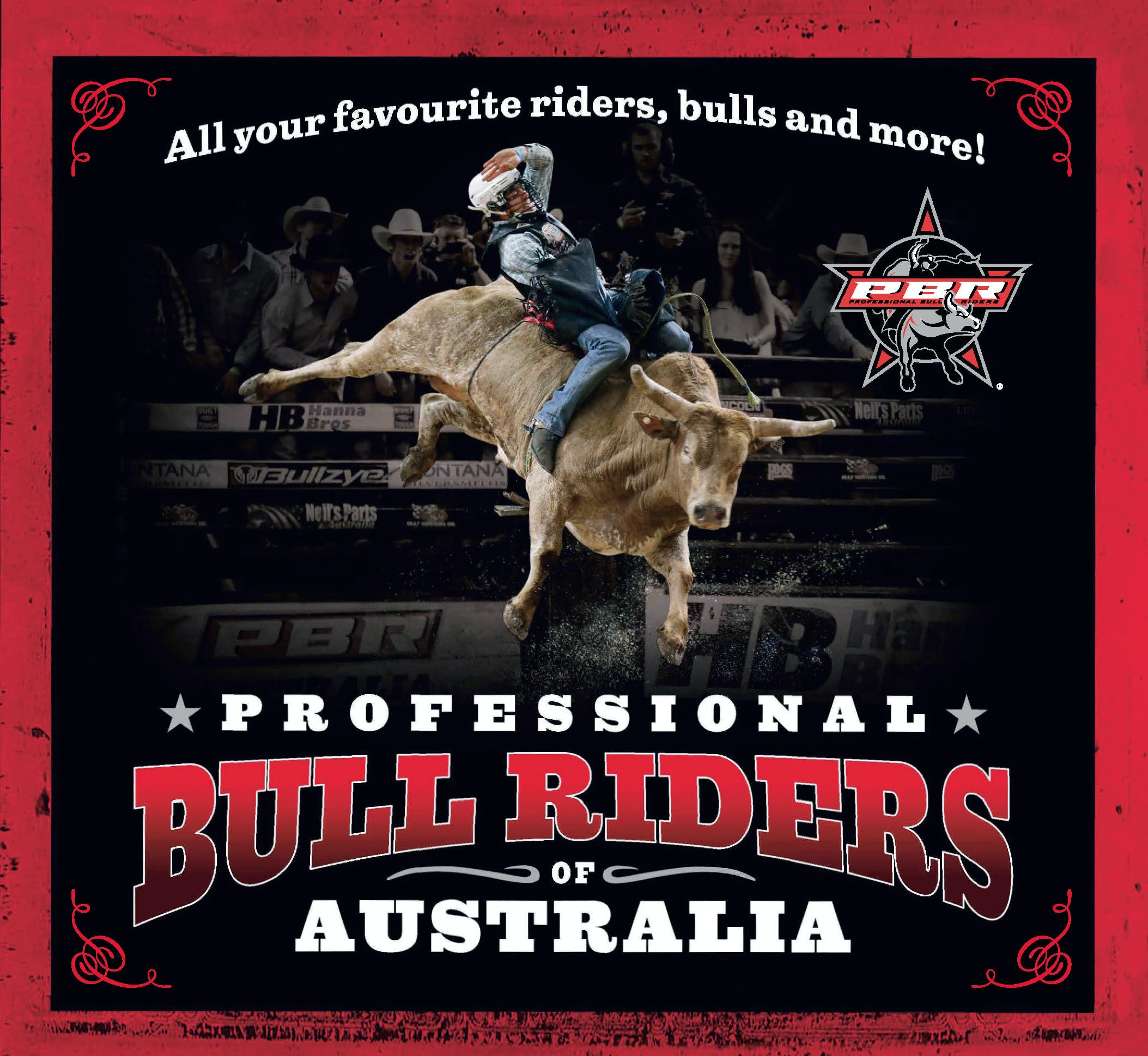 Professional Bull Riders Of Australia: All Your Favourite