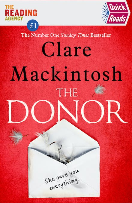 Best Seller Books 2020.The Donor Quick Reads 2020 By Clare Mackintosh Books