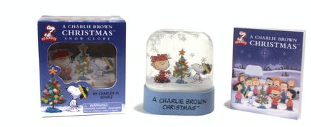 Christmas Snow Globes Australia.A Charlie Brown Christmas Snow Globe By Charles Schulz
