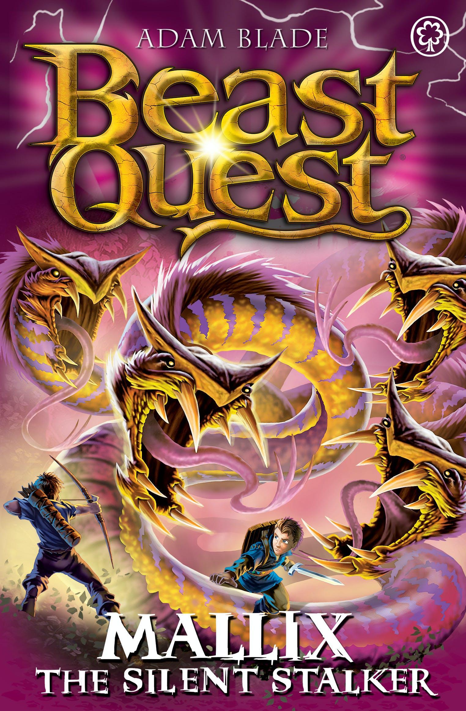 beast quest mallix the silent stalker series 26 book 2
