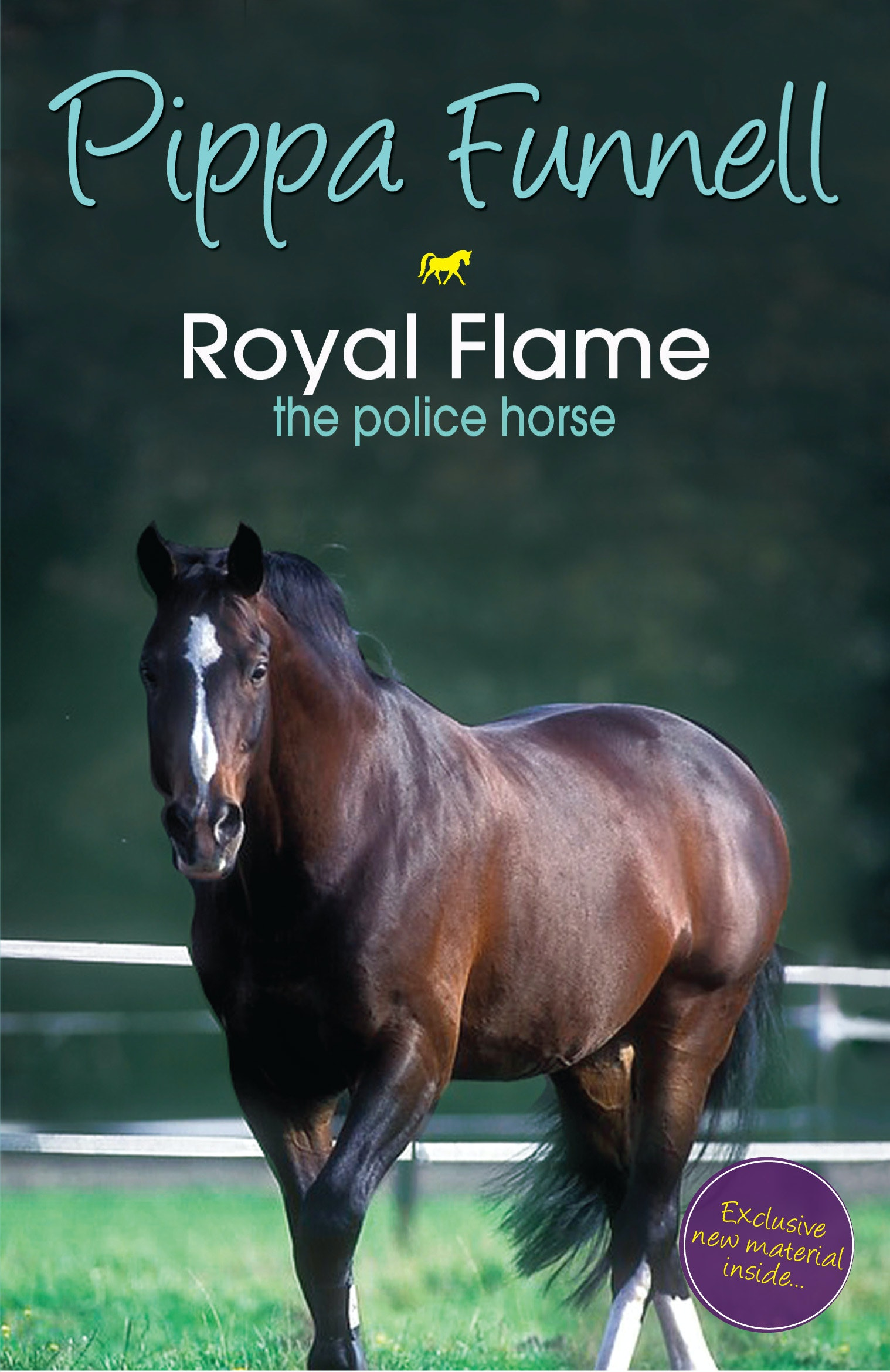 Tilly's Pony Tails 16 : Royal Flame The Police Horse Press Reviews