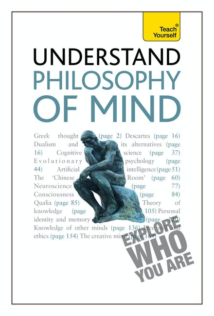 Philosophy of Mind: Teach Yourself by Mel Thompson - Books