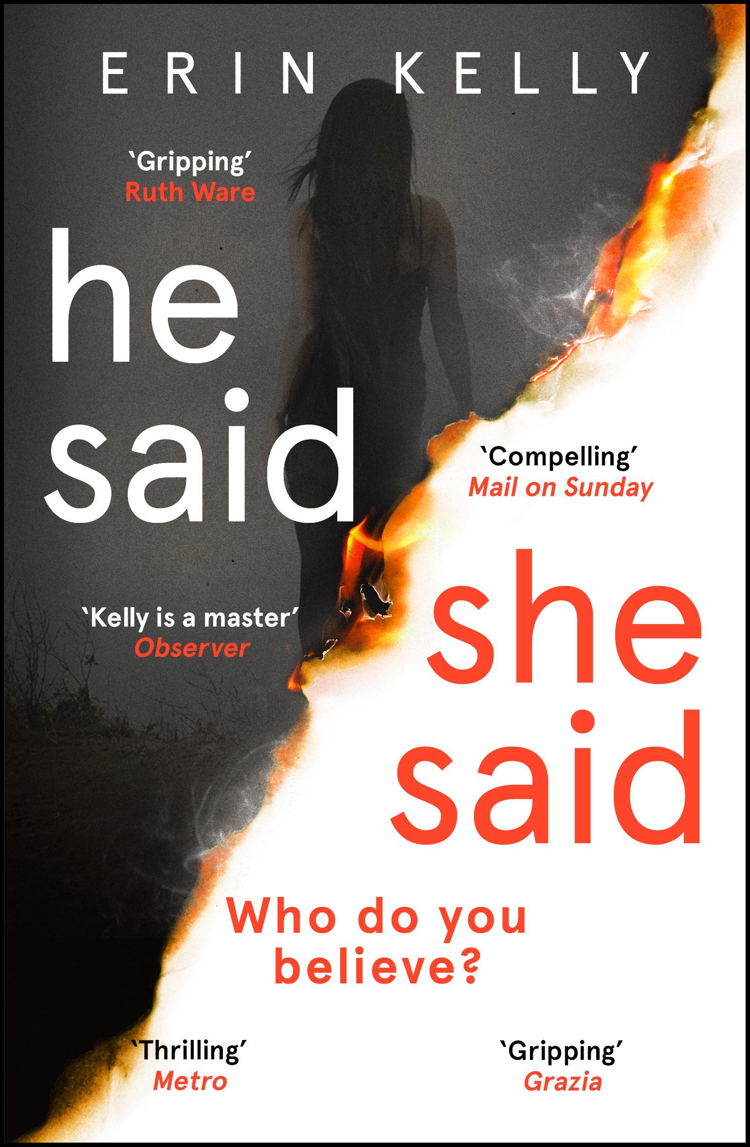He Said/She Said cover image