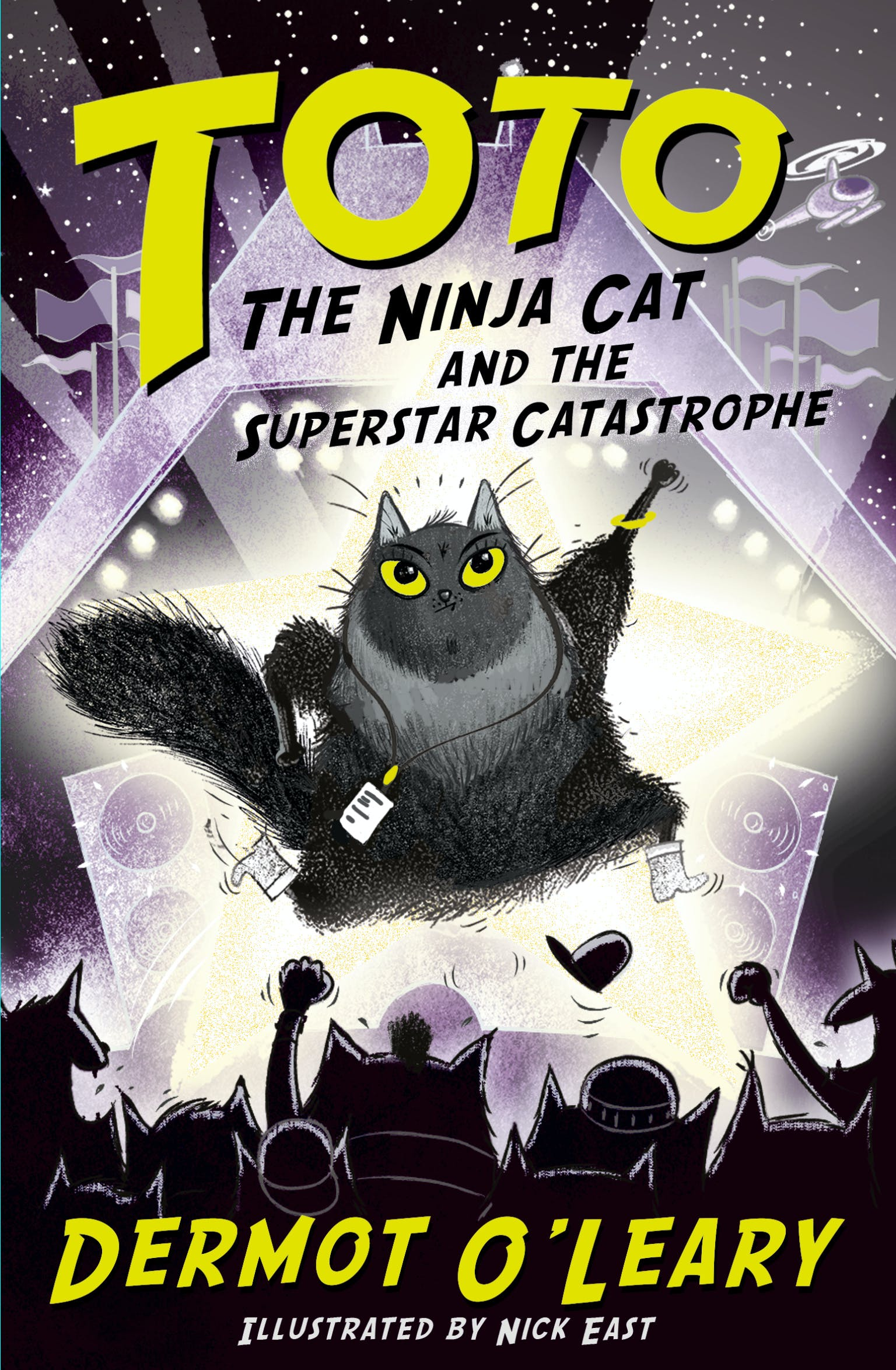 Toto the Ninja Cat and the Superstar Catastrophe: Book 3 by