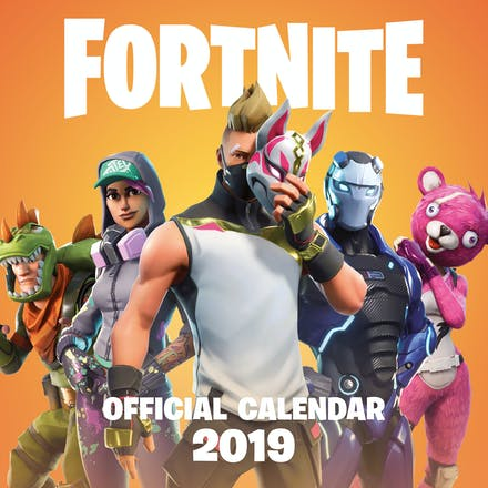 FORTNITE Official 2019 Calendar by Epic Games - Books