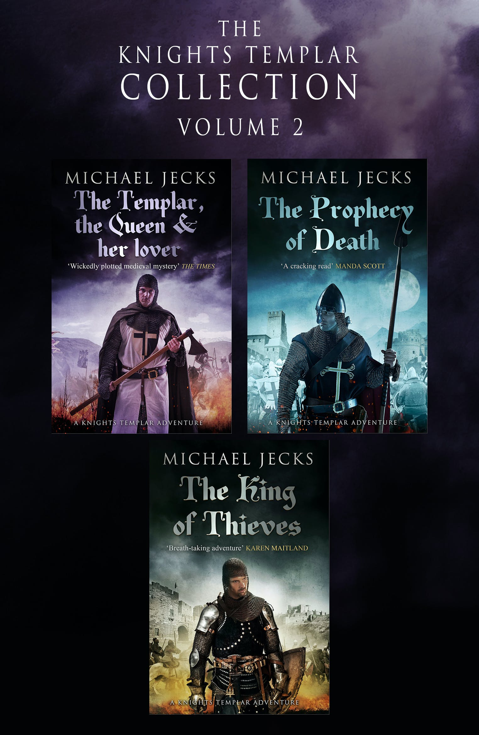 The Knights Templar Collection: Volume 2 by Michael Jecks