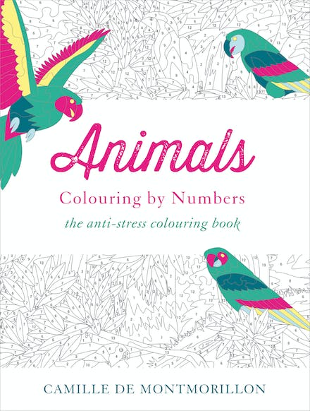 Animals: Colouring by Numbers by Camille de Montmorillon