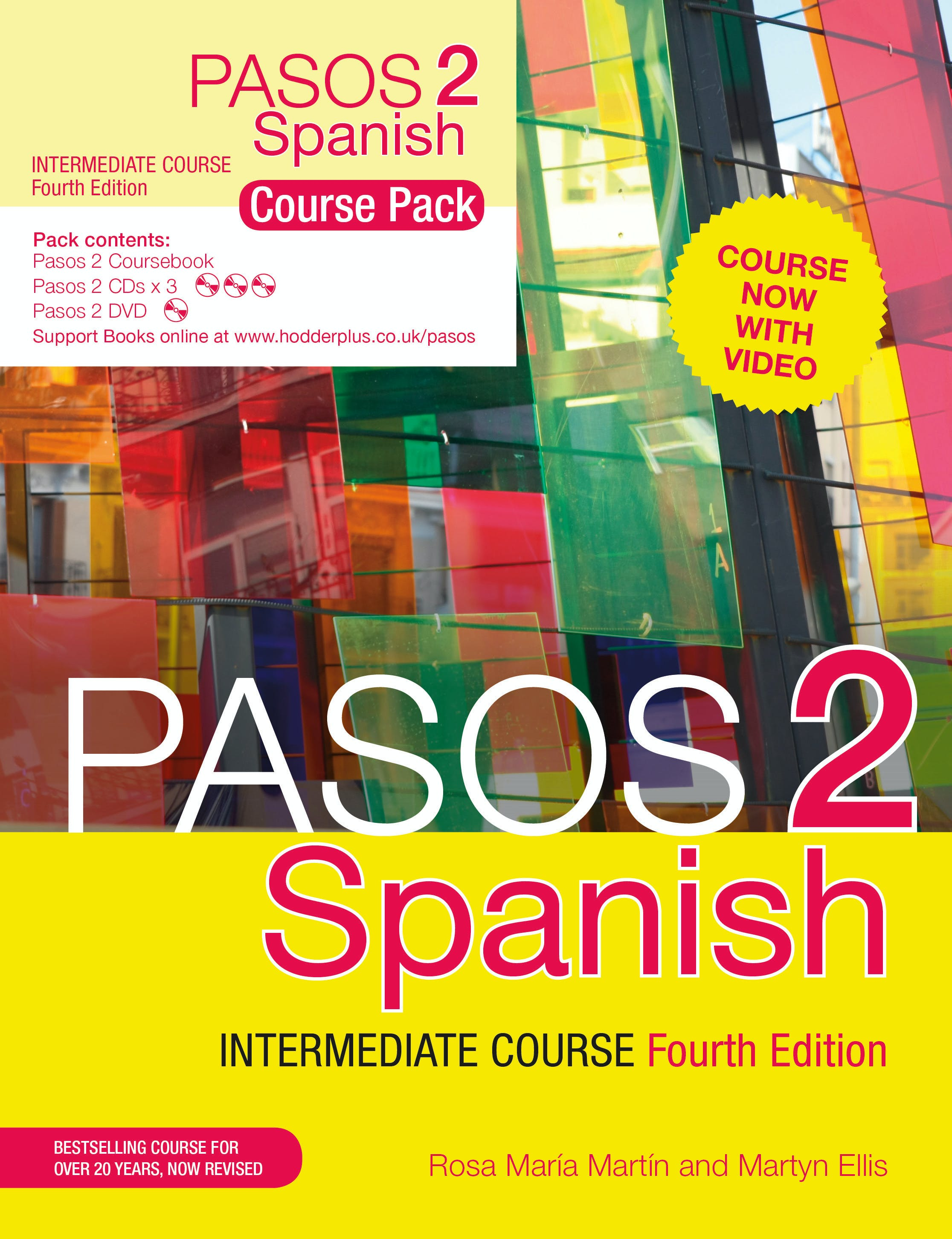 Pasos 2 (Fourth Edition) Spanish Intermediate Course by