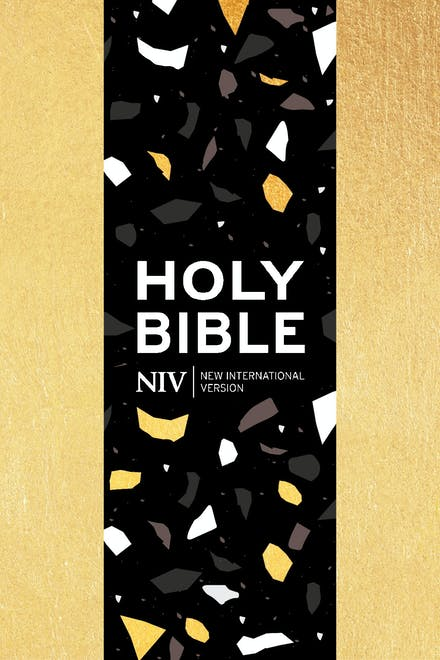 NIV Pocket Gold Soft-tone Bible with Zip by New
