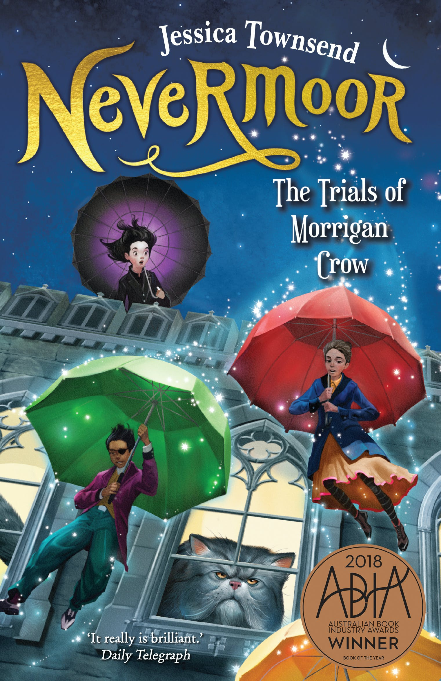 Nevermoor book cover
